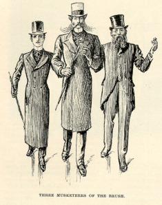 three musketeers of the brush
