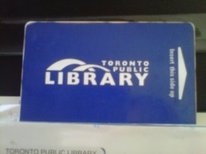 "You read ""Toronto Public Library"" here; I read reproach."