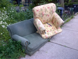 If the chairs at the poetry reading had been even half this inviting, things might have been okay.
