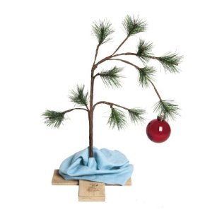 You can buy a musical Charlie Brown Christmas tree on the interwebs now. I can't stand it, I just can't stand it.