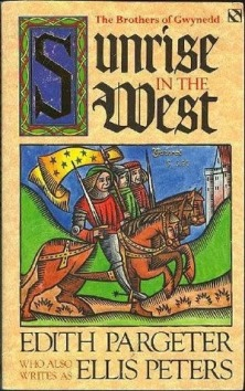 Book cover for Edith Pargeter's Sunrise in the West
